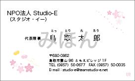 RYOSUKEデザイン名刺14(かわいい) K14