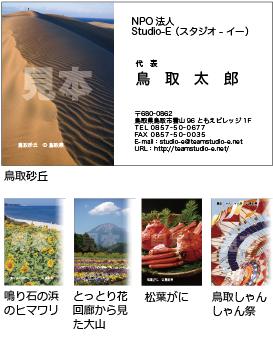 「鳥取砂丘」他 20枚x5種類セットC S03