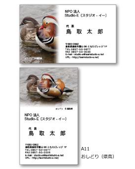 おしどり(県鳥) A11